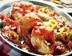 Νηστίσιμη συνταγή για γαρίδες σαγανάκι!