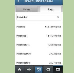 hashtags instagram like4like