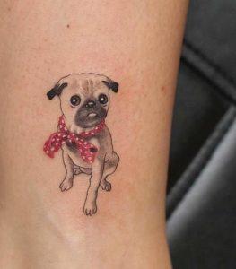 olokliros skilos me xroma tatouaz