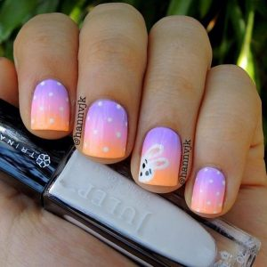 ombre nails pasxa