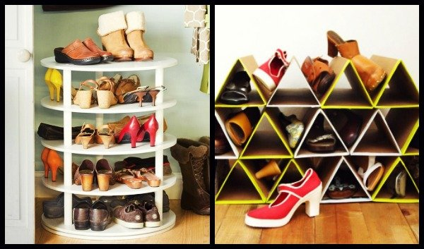 9 Εύκολοι τρόποι αποθήκευσης παπουτσιών για μικρούς χώρους!