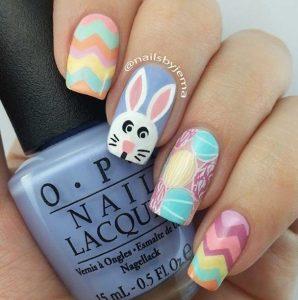 pastel pasxalino nail art