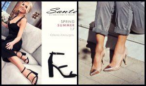 Νέα Collection Sante shoes άνοιξη-καλοκαίρι 2017!