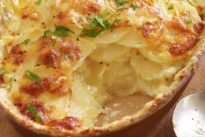 Νόστιμη συνταγή για πατάτες αλά κρεμ!