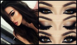 smokey eye kallintika