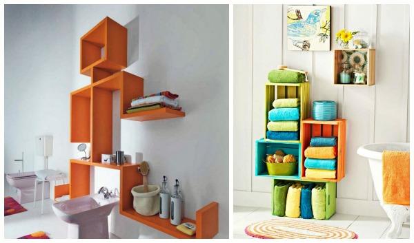15 Ιδέες για να αποθηκεύσεις τις πετσέτες του μπάνιου σου!