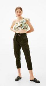 assymetro floral top