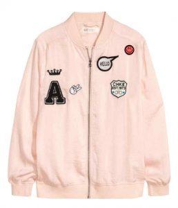 bomber jacket h&m 10+