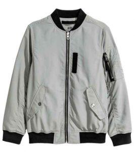 bomber jacket h&m agori 10+