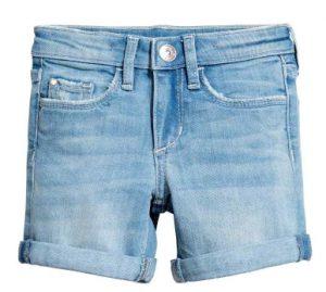denim shorts h&m 2-10