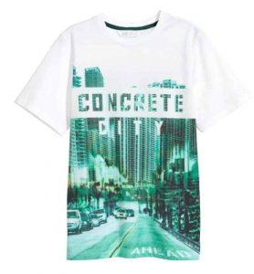 h&m t-shirt agori 10+