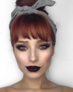 makeup ideas redheads