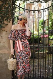 maxi floral forema