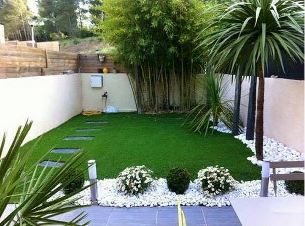 12 1 - Decoracion jardines pequenos frente casa ...