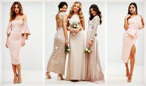 60 Όμορφα nude φορέματα για γάμο & βάφτιση!