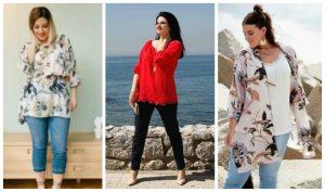 Γυναικεία ρούχα σε μεγάλα μεγέθη Parabita Άνοιξη 2017!