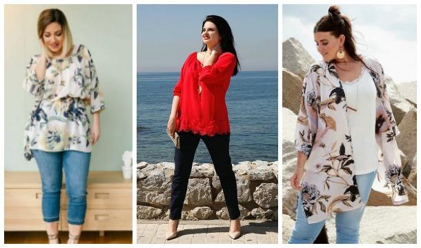 ff5978acb5ee Γυναικεία ρούχα σε μεγάλα μεγέθη Parabita Άνοιξη 2017!