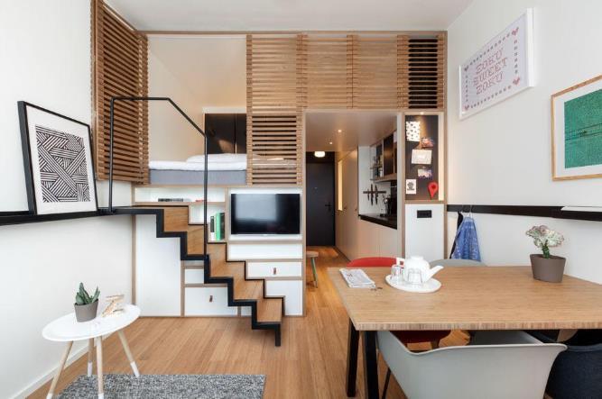 Tricks για στιλάτη διακόσμηση & οργάνωση σ' ένα μικρό διαμέρισμα!