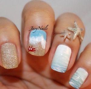 ammos kai thalassa nail art