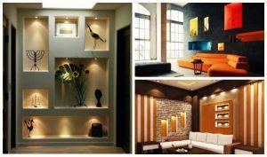 15 Ιδέες για μοντέρνα διακόσμηση τοίχου σε εσωτερικό χώρο!