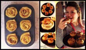 Πως να φτιάξεις τριανταφυλλένια μηλοπιτάκια με 4 υλικά!