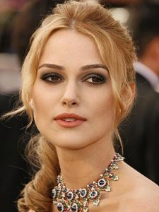 kira knightley, smokey eye, kastana matia makigiaz gia ksanthes