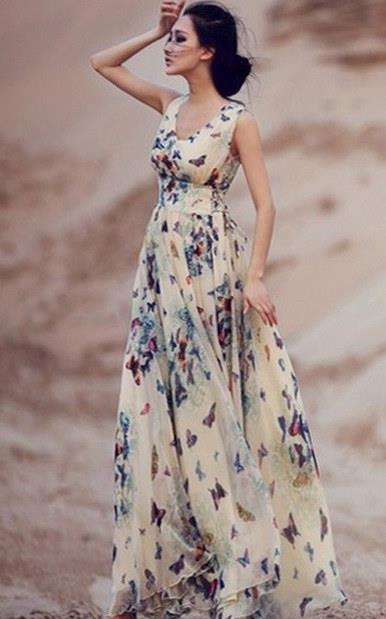 7ec7ae7b90d Το maxi φόρεμα είναι μια πολύ καλή λύση ακόμα και αν είσαι η μαμά ή η νονά  του παιδιού που βαφτίζεται, καθώς είναι το απόλυτο καλοκαιρινό ρούχο, ...