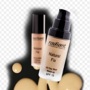radiant natural fix make up