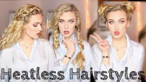 8 Εύκολα χτενίσματα χωρίς θερμότητα για κατσαρά μαλλιά!