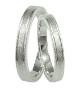 Ασημένια βέρα - δαχτυλίδι