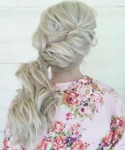 casual hairstyles ponytail