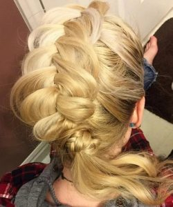 faux mohawk hairstyles