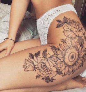 ginaikeio tatouaz me louloudia