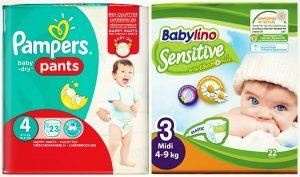 Οι 7 καλύτερες πάνες για το μωρό σου σε προσφορά!