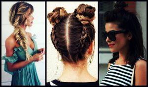 20 Εύκολα hairstyles για να μην ζεσταίνεσαι το καλοκαίρι!