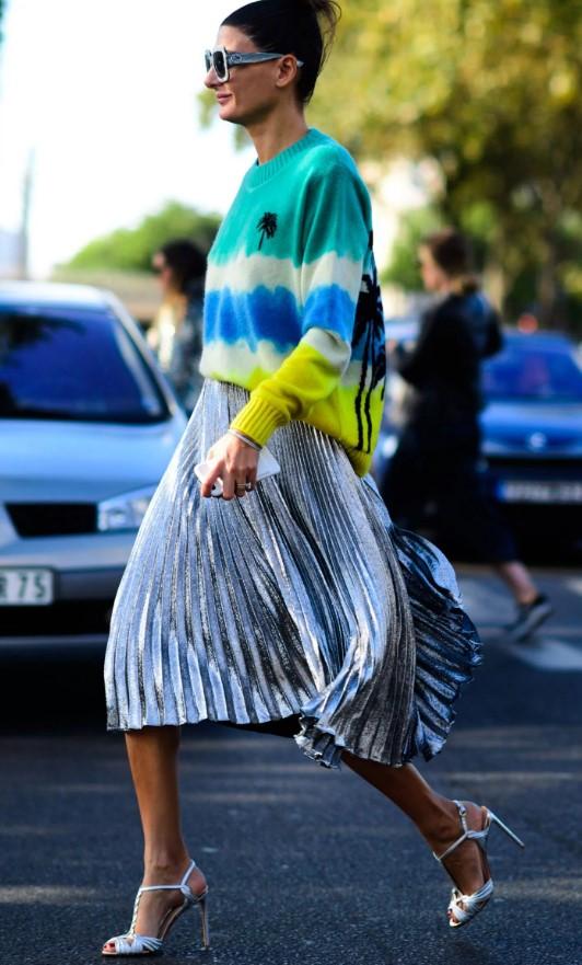 21 Μοντέρνοι συνδυασμοί με midi φούστα για το καλοκαίρι!  d1e08415595