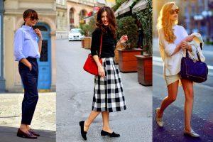 loafers setarismena me diaforetika outfit