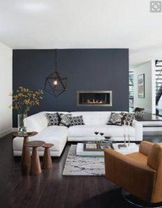 minimalistiko monterno saloni