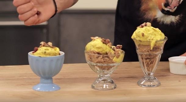 Πως να φτιάξεις παγωτό μπανάνα χωρίς παγωτομηχανή!