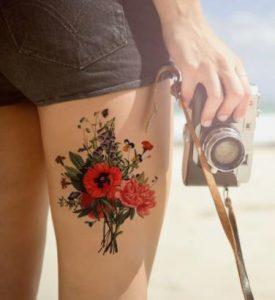tatouaz me diafora louloudia