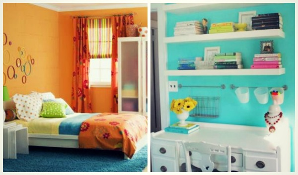 20 ιδέες για χρώματα στο παιδικό δωμάτιο!