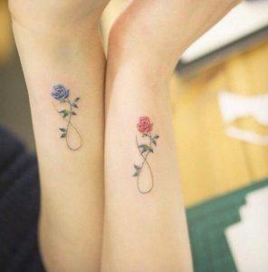 xromatista triantafilla ginaikeia tatouaz