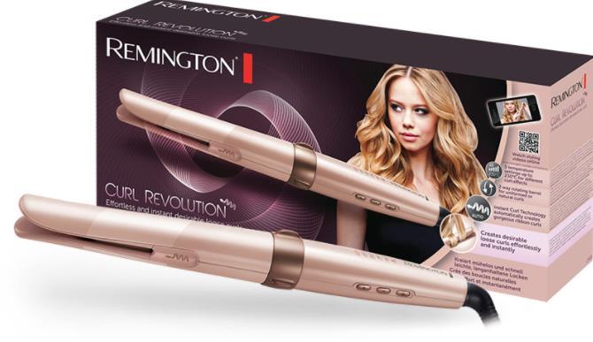 Το ψαλίδι της Remington χαρίζει όμορφες μπούκλες ενώ παράλληλα προσφέρει  μεγαλύτερη προστασία από άλλες συσκευές. Χάρη στην λεία επίστρωση της τα  μαλλιά σου ... db5d173e444