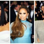 celebrities make-up hairstyles 2017