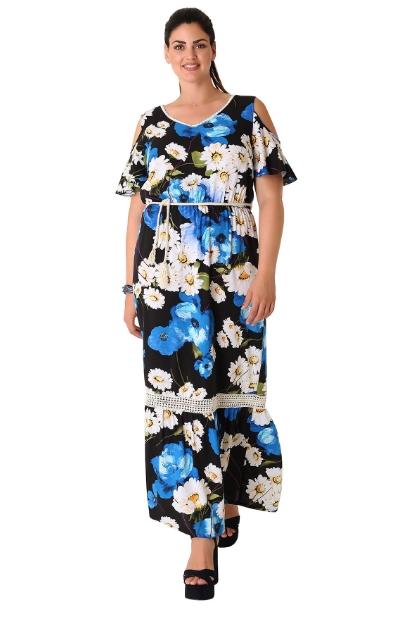 Τα floral φορέματα έχουν γίνει πλέον αναπόσπαστο κομμάτι της γκαρνταρόμπας  μας 1a39d27a2b5