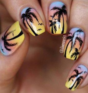 xrwmatisto squoval manicure me kokofoinikes