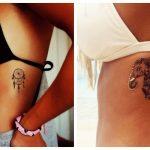 gynaikeia tattoo sta pleura
