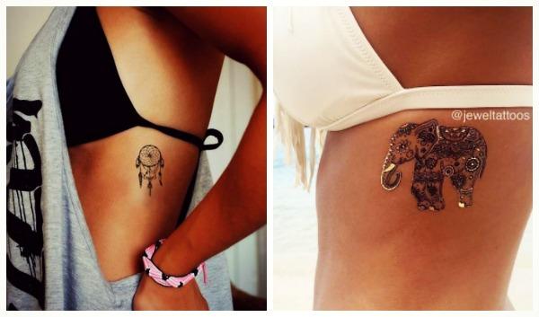30 Προτάσεις για γυναικεία Tattoos στα πλευρά!