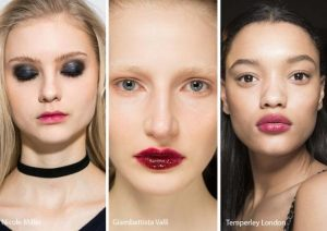 messy lipstick