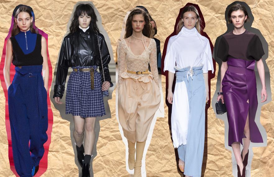 paperbag style moda gia to 2018